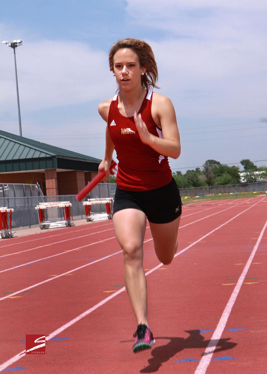 Individual Sports Portrait - CyWoods Track
