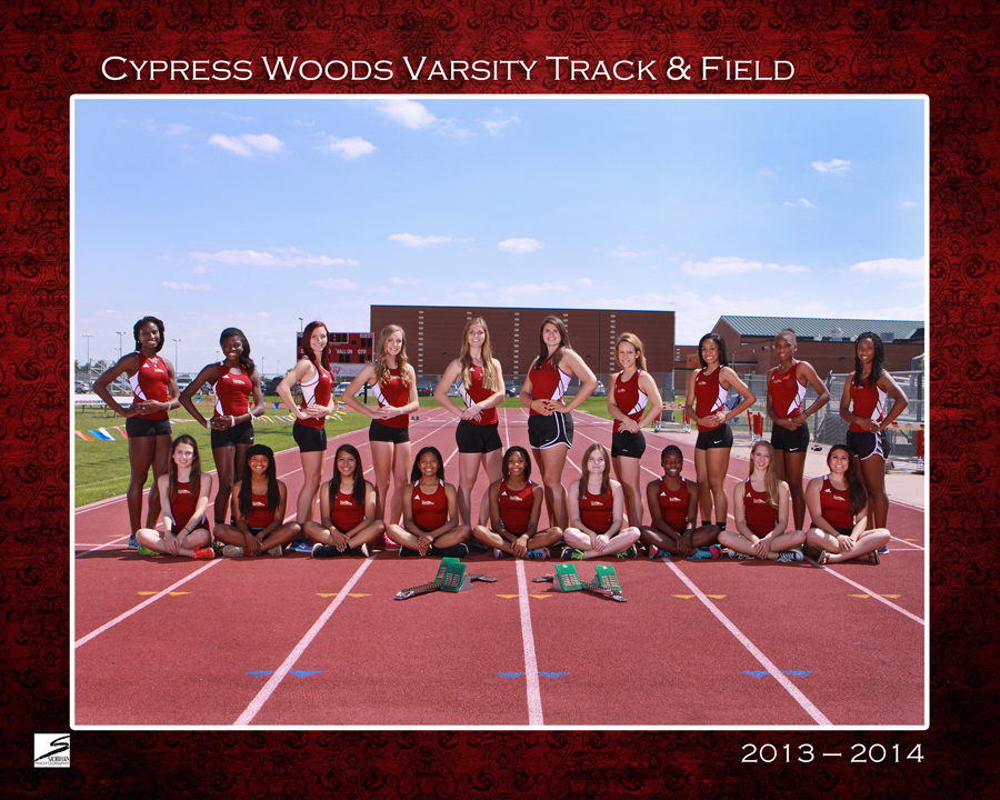 Team Sports Portrait - CyWoods Track